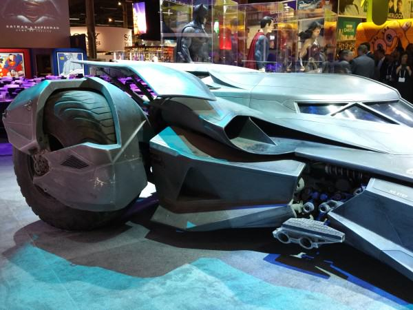 A Closer Look At The All New Batmobile From Batman Vs Superman batmobile 2