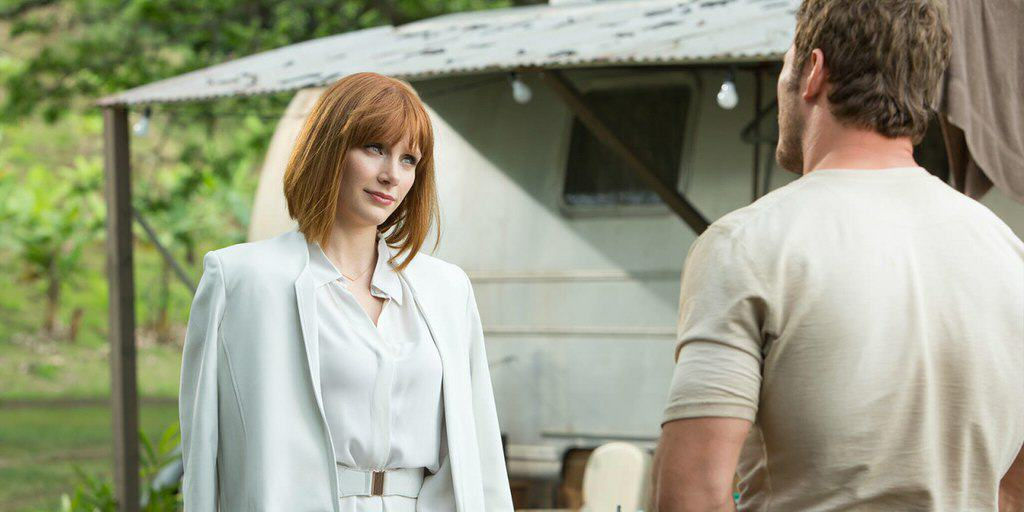 bdy Jurassic World Fans Go Into Meltdown Over Bryce Dallas Howards Heels In The Movie