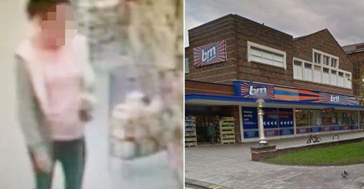 bm fb Woman Takes POO In Middle Of B&M Store, Leaves It For Staff To Clear Up