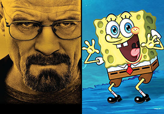 breaking sponge WEB SpongeBob SquarePants Becomes Heisenberg In New Breaking Bad Mash Up