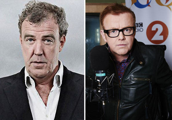 clarkson evans WEB Jeremy Clarkson Takes Shot At Chris Evans On Twitter After He Reveals Filming For New Top Gear