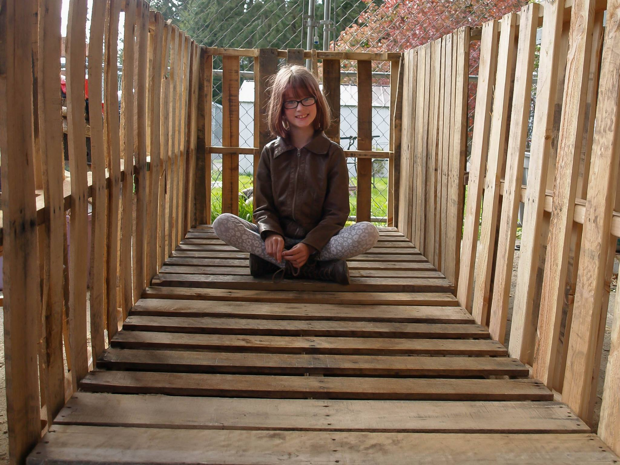 hailey homeless 1 Inspirational 9 Year Old Girl Is Building Shelters For The Homeless