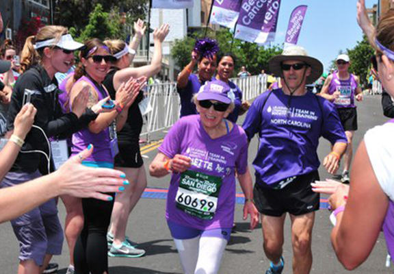 harriette web 92 Year Old Woman Becomes Oldest Woman To Complete Marathon
