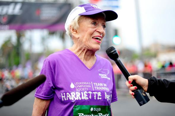 harriette1 92 Year Old Woman Becomes Oldest Woman To Complete Marathon