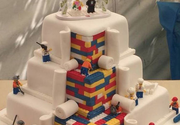 Bakery Makes Plea For LESS Orders As LEGO Cake Goes Viral lego cake web1