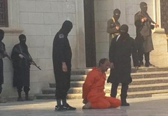 ISIS Behead Libyan Solider In Front Of Kids Claiming Its Educational libyan web