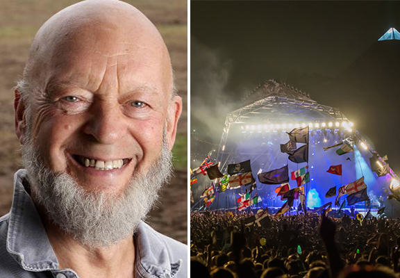 michael eavis WEB Glastonbury Festival Could Be Moved To New Site Says Michael Eavis