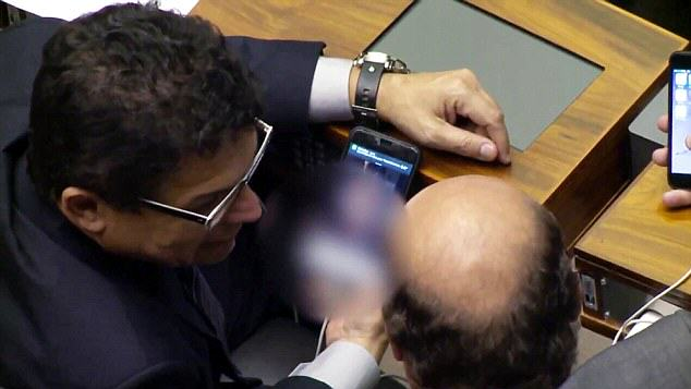 mp porn 2 Brazilian MP Caught Watching Porn On His Phone During Debate In Parliament