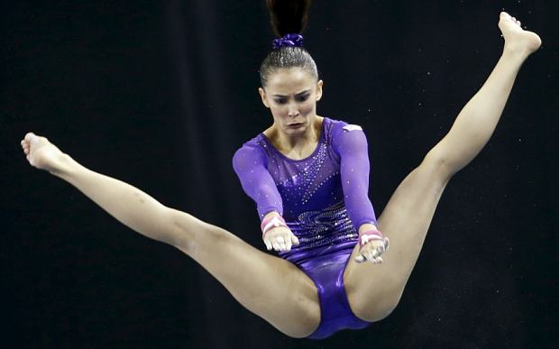 This Muslim Gymnast Was Lambasted For Her Revealing Leotard muslimgym 1