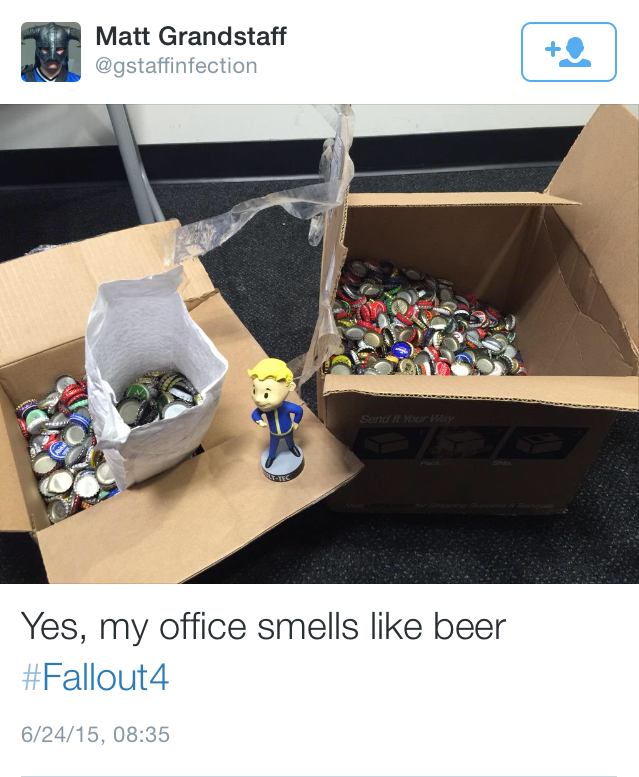 Man Who Tried To Pre Order Fallout 4 With Bottlecaps Gets Reply ndXIKcd 1