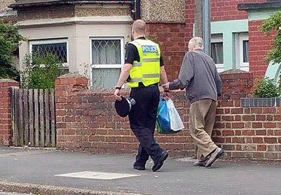 omp web Great Grandfather Walked Home By PC After Getting On Wrong Bus