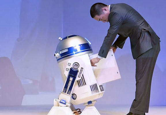 Im Lazy So I Really Want This Life Sized R2 D2 Fridge r2 web
