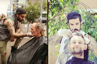 This Barber Spends His Days Off Giving Free Haircuts To The Homeless
