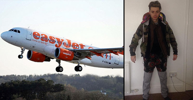 153 Teenager Wearing 12 Layers Of Clothes Collapses During Easyjet Flight