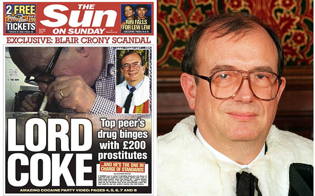 House Of Lords Deputy Speaker Resigns After Snorting Cocaine With Prostitutes 55b51b38b693c