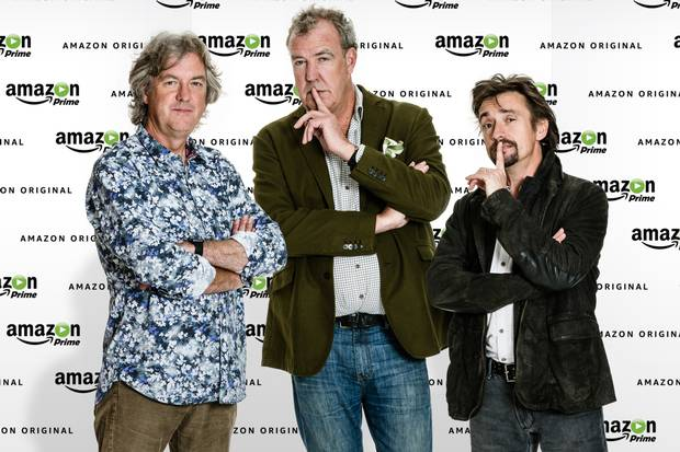 55b9f91b5c4a0 Amazon Sign Jeremy Clarkson, Richard Hammond And James May For New Show