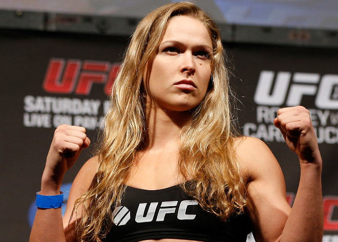 Ronda Rousey Doesnt Care If You Think Her Body Is Too Masculine 55bb588e5f2dd
