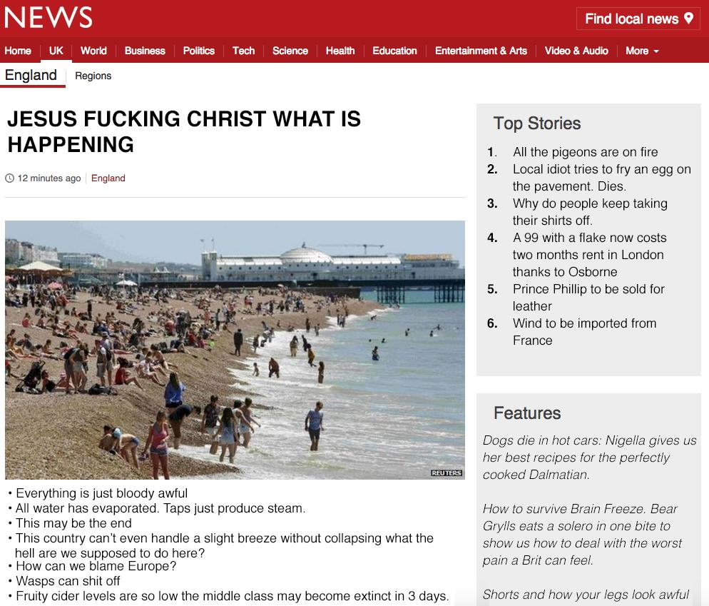 Britain Is Hot, Apparently CI0suCKW8AAyb0V