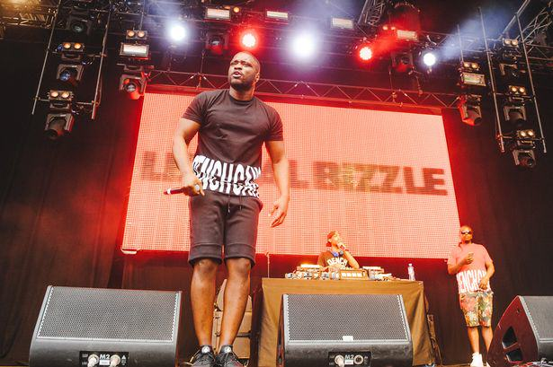 Lethal Bizzle Sees Wireless Performance Stormed By Gatecrashers Lethal Bizzle performs on Day 1 of the New Look Wireless Festival