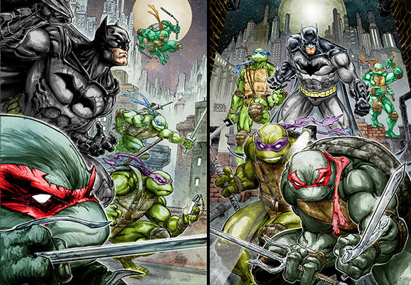 batman tmnt WEB Batman Will Team Up With The Teenage Mutant Ninja Turtles