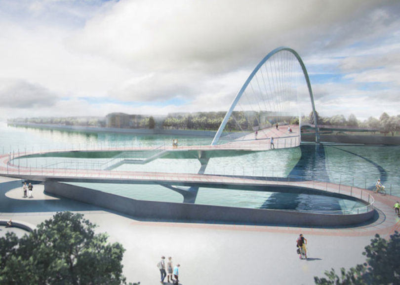 london cycle bridge 1 Here Are The Final Four Designs For Londons New Cycle Bridge
