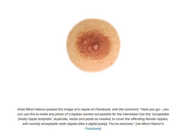 male nipple Women Are Photoshopping Themselves With Male Nipples To Fight Back Against Censorship