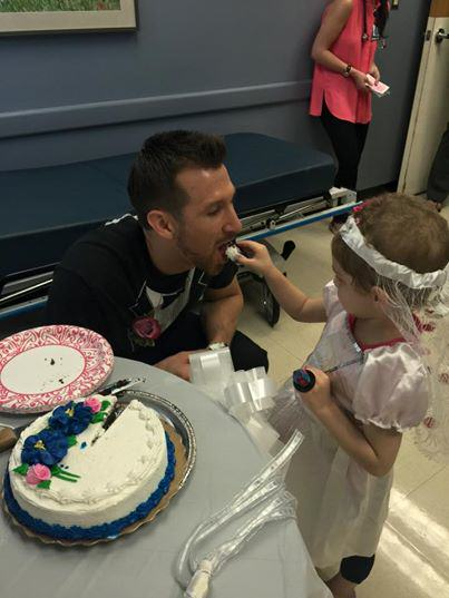 mattab Four Year Old Cancer Patient Gets Married To Her Favourite Nurse