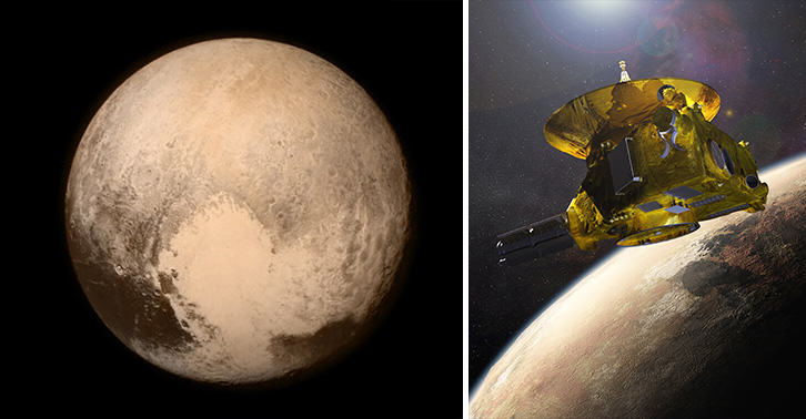 History Made As NASA Spacecraft Sends Signal From Pluto To Earth pluto FB