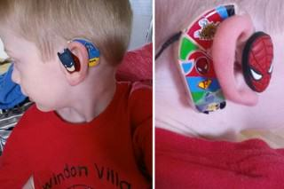 Mother Designs Amazing Hearing Aids For Kids Using Superheroes