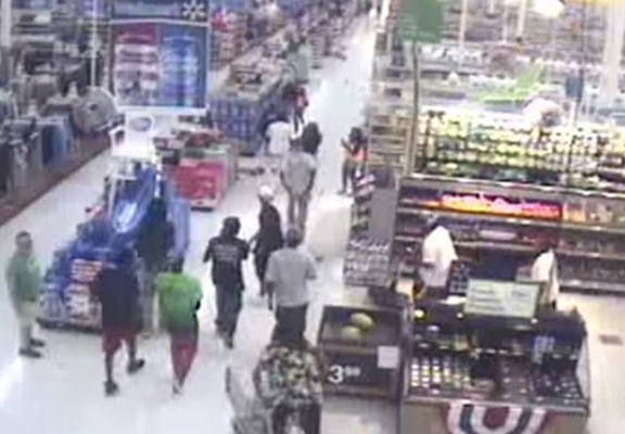walmart web A Gang Of 50 Try And Destroy Walmart, Epically Fail