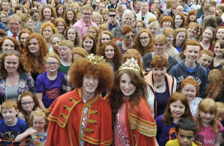 UNILAD 138 2000 Redheads Attend A Ginger Convention To Celebrate Everything Orange