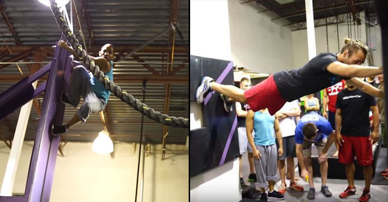 UNILAD 166 UFC Fighters Take On The Infamous Ninja Warrior Course
