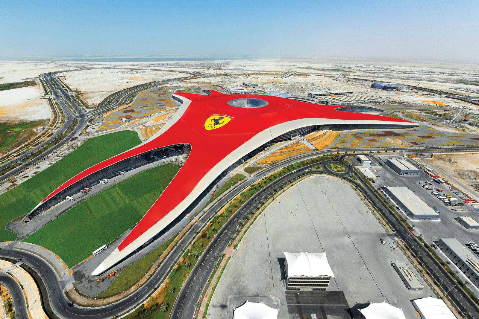 UNILAD Ferrari World Abu Dhabi 33 Man Takes Taxi Driver To Theme Park Because Hed Never Been To One