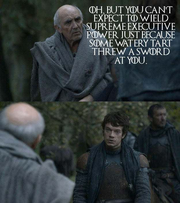 UNILAD Jamie Jones BuzzFeed HBO 24 These Game Of Thrones Moments With Quotes From Monty Python Are Amazing