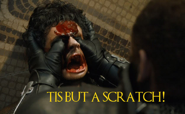 UNILAD Robin Edds BuzzFeed HBO 52 These Game Of Thrones Moments With Quotes From Monty Python Are Amazing