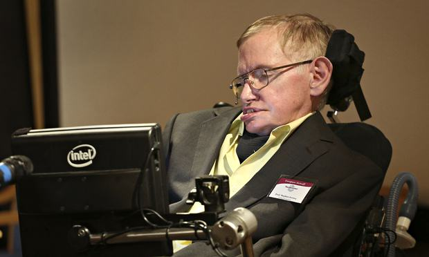 UNILAD Stephen Hawking talks to 0125 Stephen Hawking Says Black Holes Lead To Another Universe
