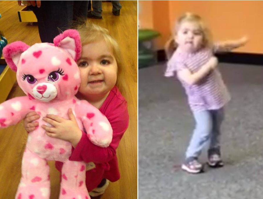 Six Year Old Girl With Rare Illness Dominates Zumba Convention UNILAD dd3