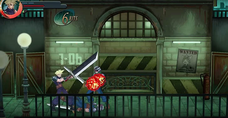Fan Made Project Re Imagines Final Fantasy 7 As A 2D Beat Em Up UNILAD fantasy32