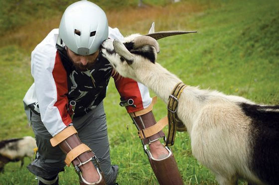 UNILAD goat37 Man Gives Up Living As A Human To Be A Goat