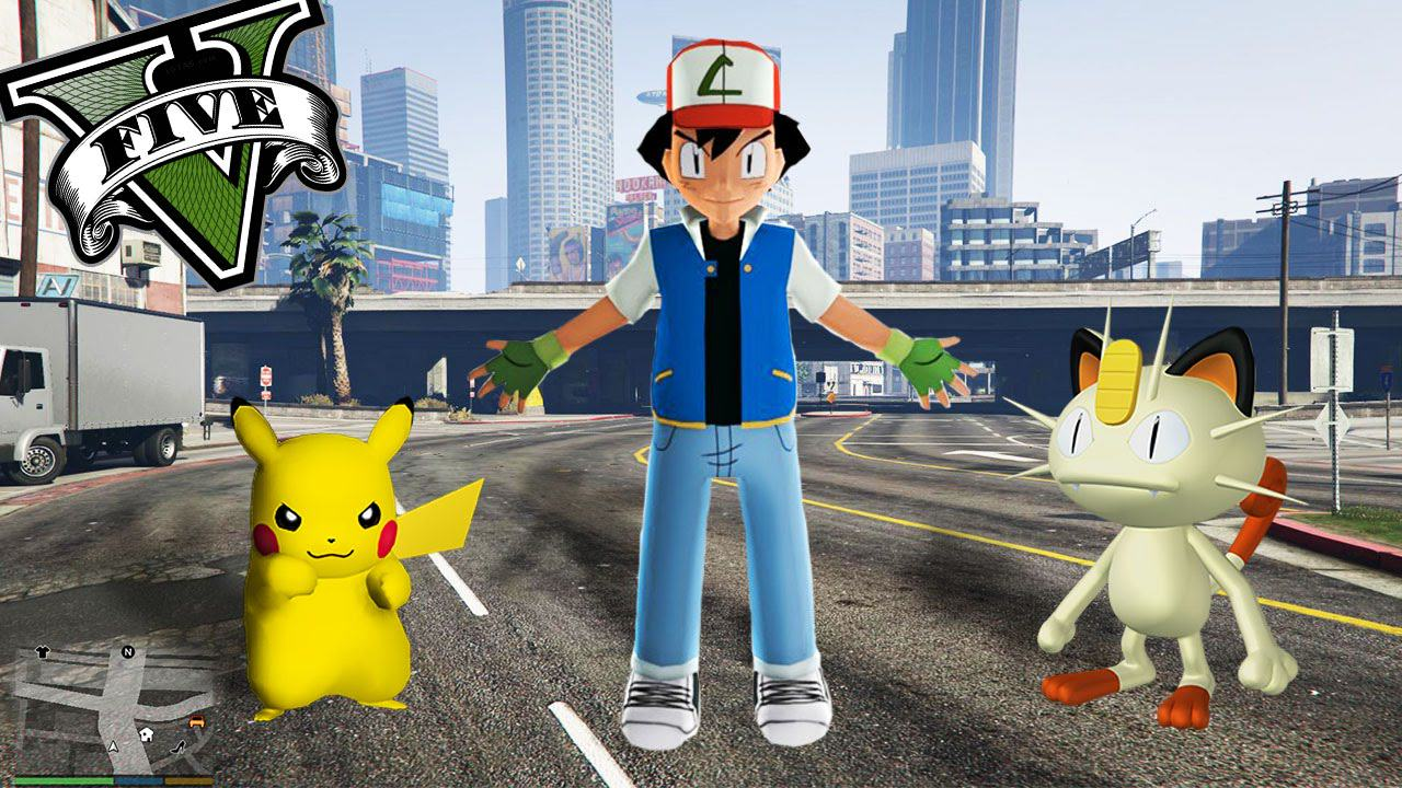 Pokémon Recreated In GTA V Is Probably The Oddest Thing Youll See Today UNILAD gta6