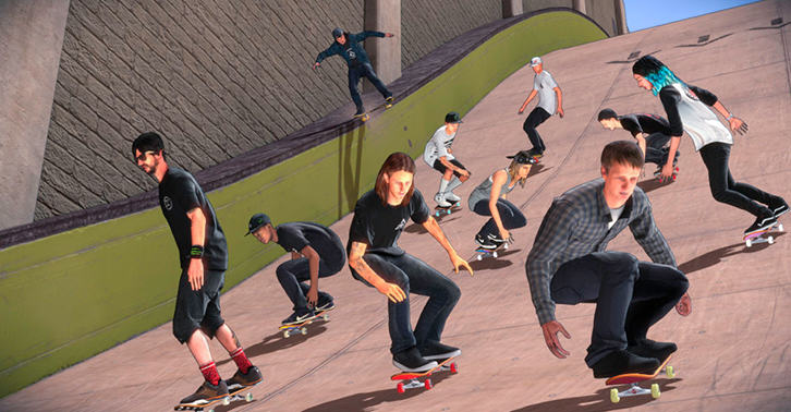 UNILAD k7pmxrjyTbn Tony Hawks 5 Gets A Facelift And Is Still Ugly As Hell