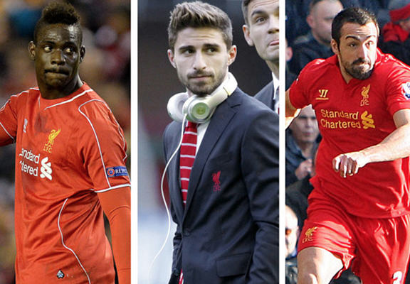 Where Did Liverpool's Three Outcasts, Balotelli, Borini and Enrique Go Wrong?