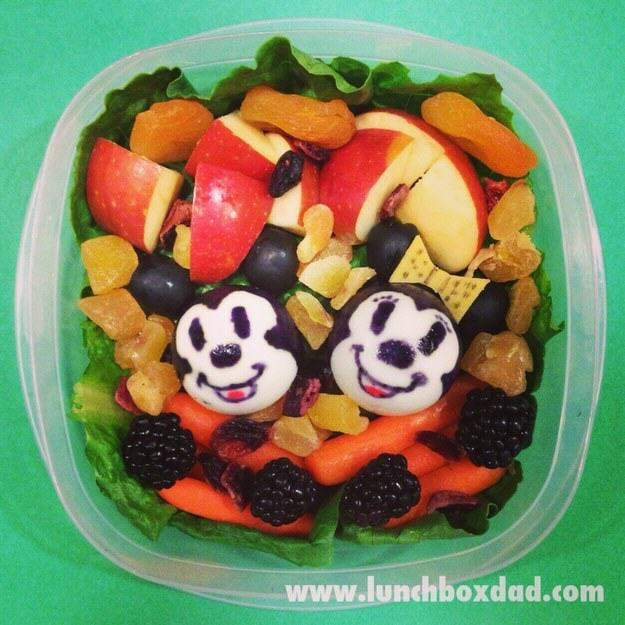UNILAD mickey Minnie6 This Awesome Dad Makes The Best School Dinners Ever