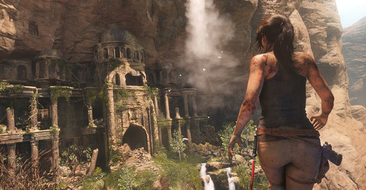 Rise Of The Tomb Raider Gameplay Footage Has Actual Tomb Raiding UNILAD raider42