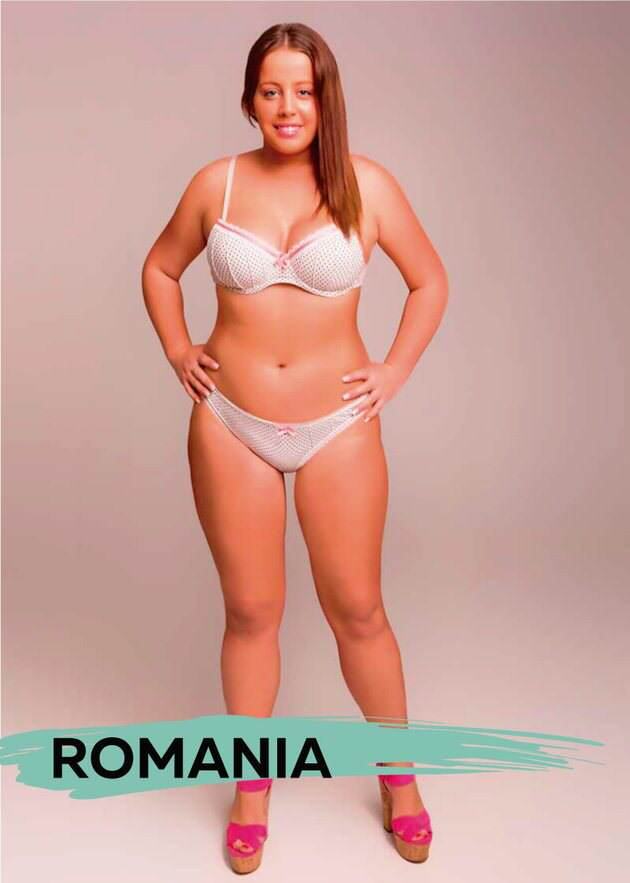 UNILAD romab4 These Ideal Body Types For Women Around The World Are Seriously Interesting To See