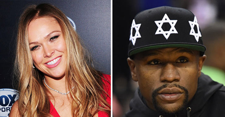 Ronda Rousey Says Shed Beat Floyd Mayweather In A No Rules Fight UNILAD rousey mayweather 26