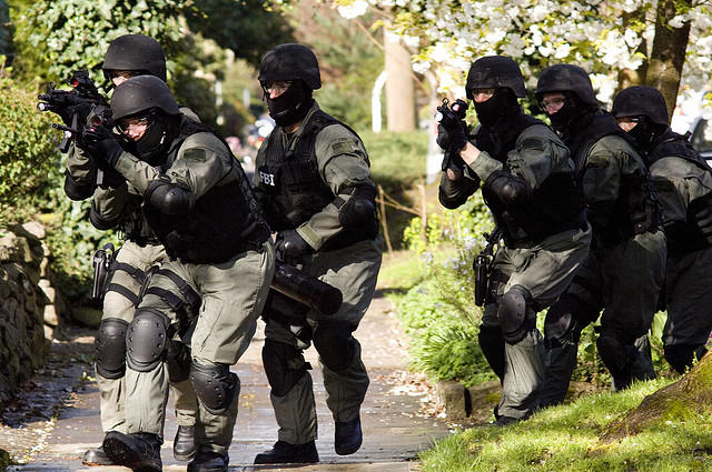 UNILAD swat raid4 SWAT Team Raided Wrong House And Held Naked Woman For Ten Minutes