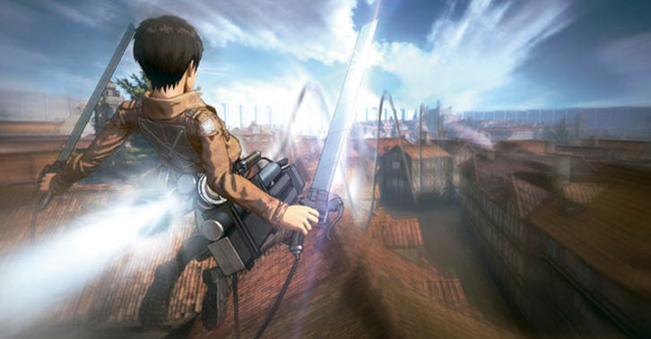 UNILAD titan48 Upcoming Attack On Titan Game Gets Preview And Stunning New Screenshots