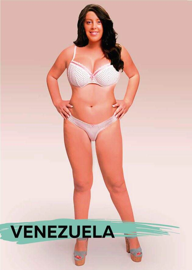 UNILAD venb2 These Ideal Body Types For Women Around The World Are Seriously Interesting To See