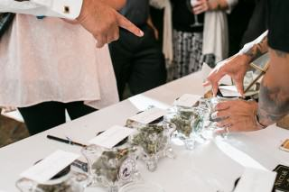 One Epic Couple Had A Weed Bar At Their Wedding